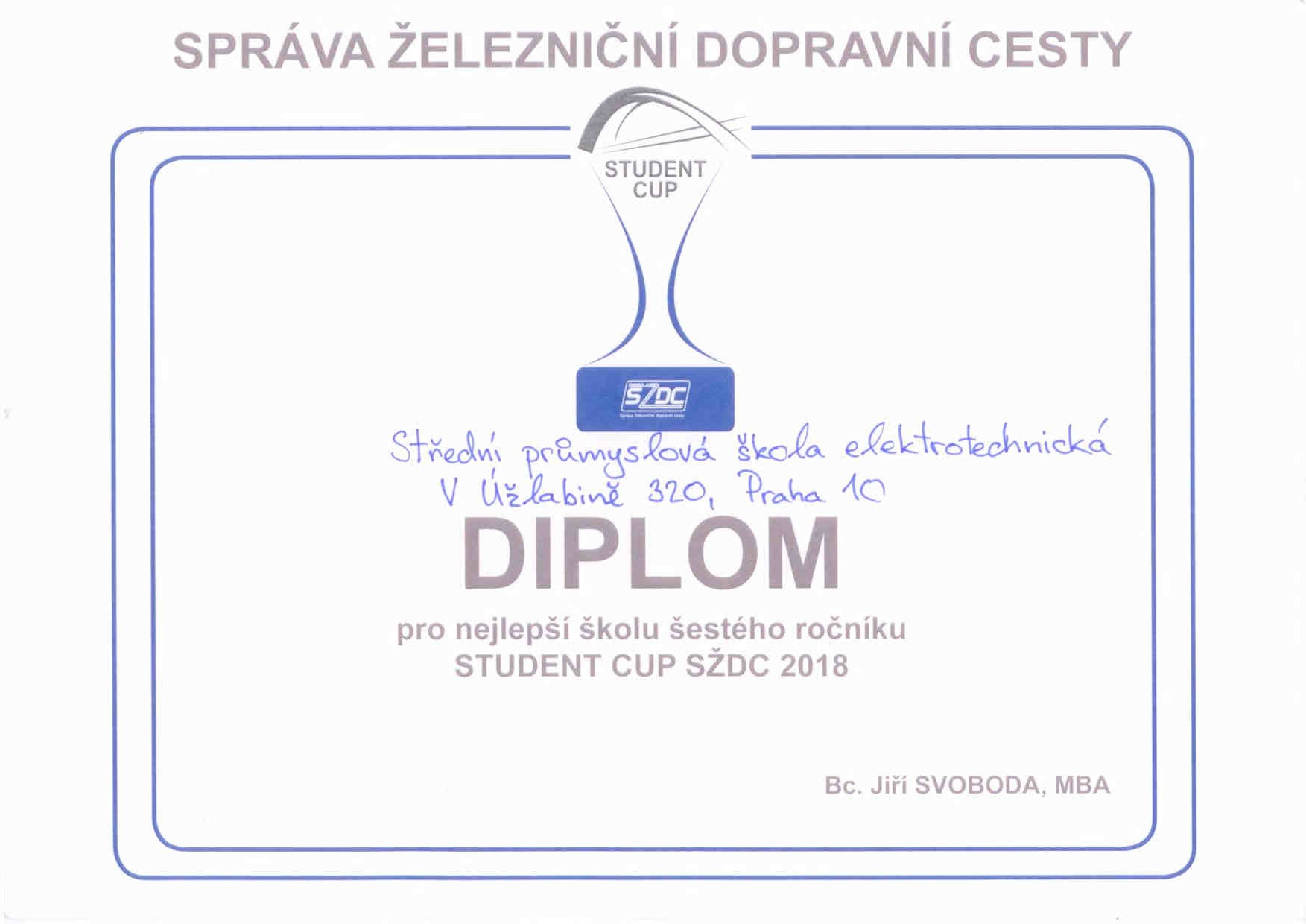 Student cup 2018